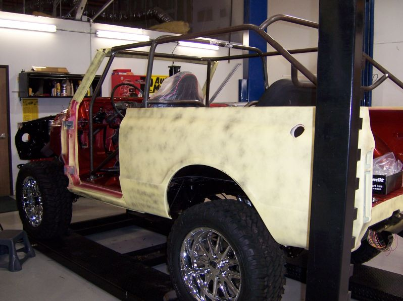 70 Blazer Ext with Roll Cage
