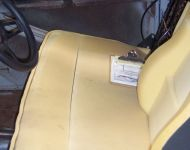 37 Ford Sedan Interior Seats