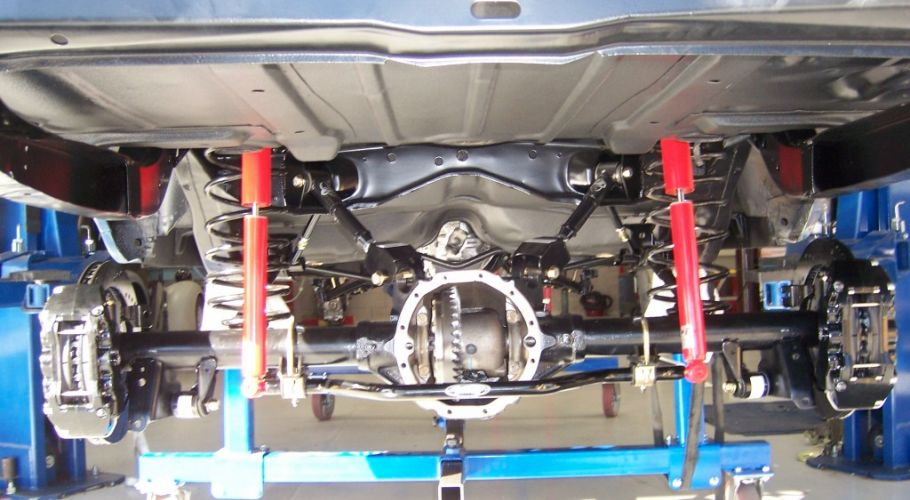 Chevelle suspension